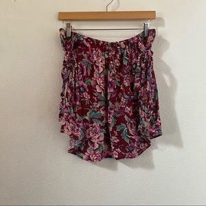 AE floral print skirt size large